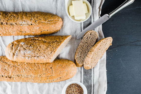 Brot auftauen im Steamer.