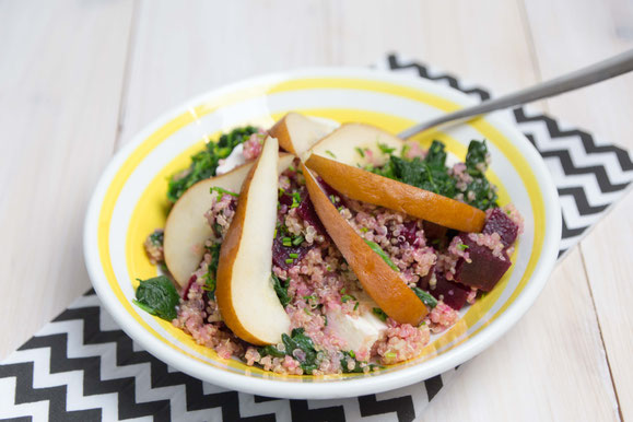 Steamhaus - Rezept für Kombi-Steamer und Dampfgarer: Winterlicher Quinoa-Salat.
