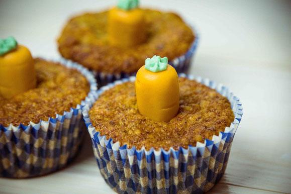 Rezept für Steamer und Dampfgarer: Rüebli-Muffins.