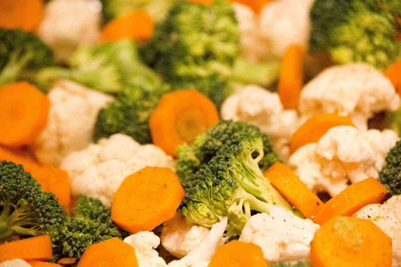 Bild zum Rezept für Steamer und Dampfgarer: Gemüsebeet.