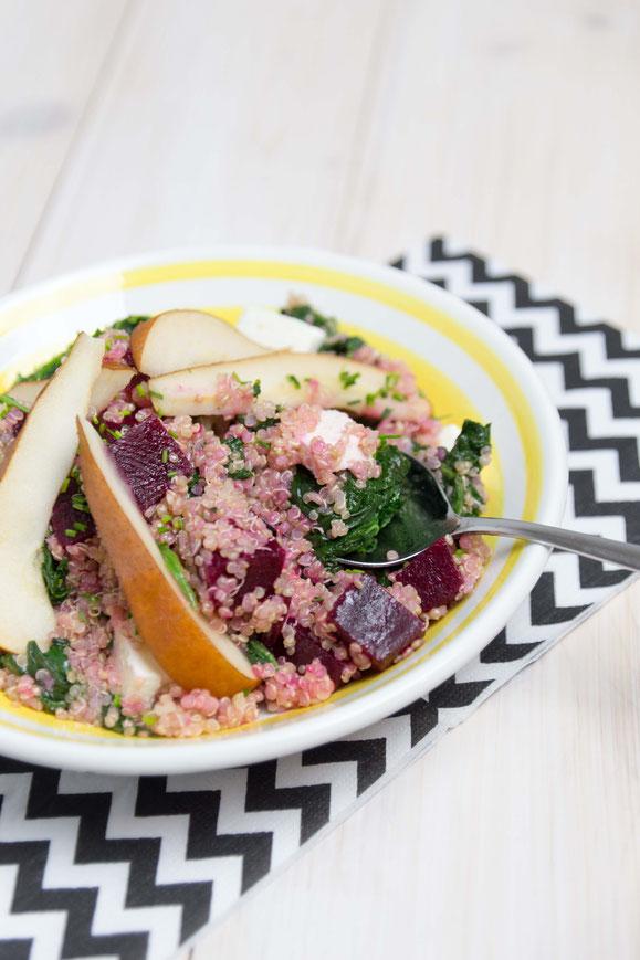 Dampfgarer-Rezept: Winterlicher Quinoa-Salat.