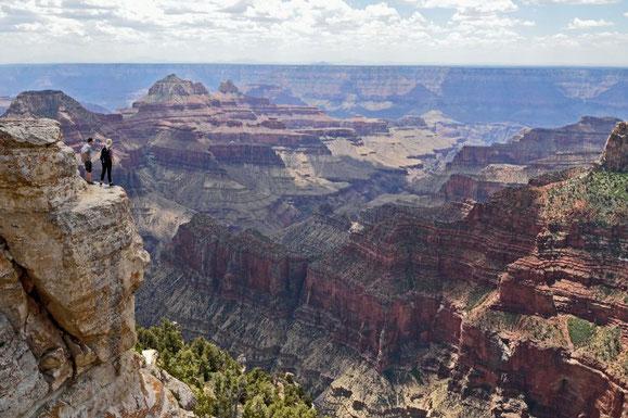 El cañón del Colorado.