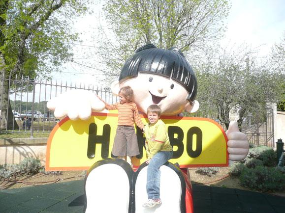 Usine Haribo à Uzès - Avril 2008