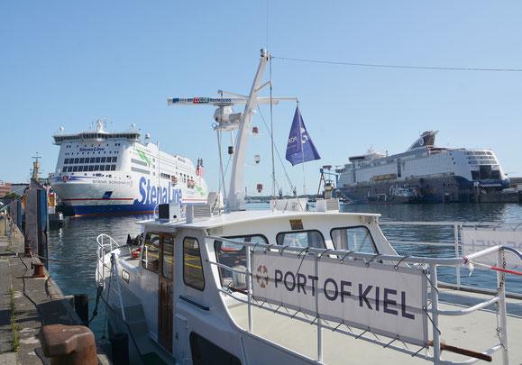 Fünffachanlauf in Kiel // © Port of Kiel