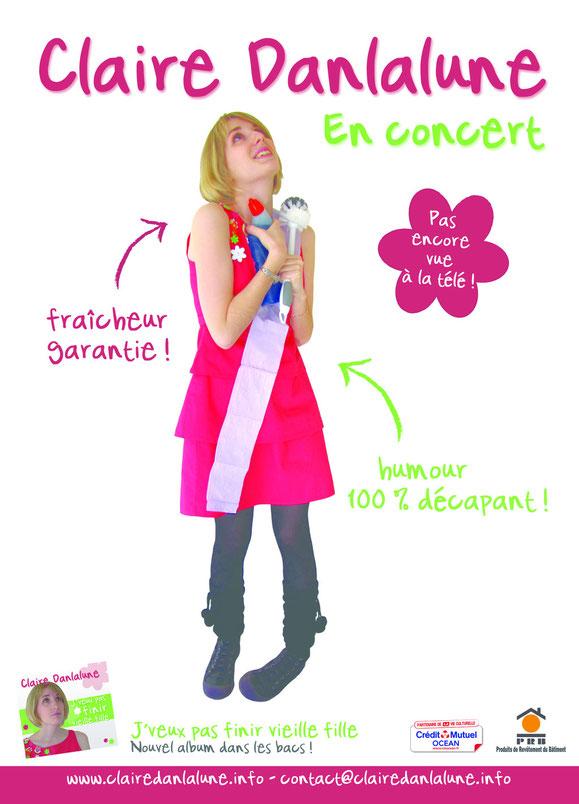 Claire Danlalune en concert