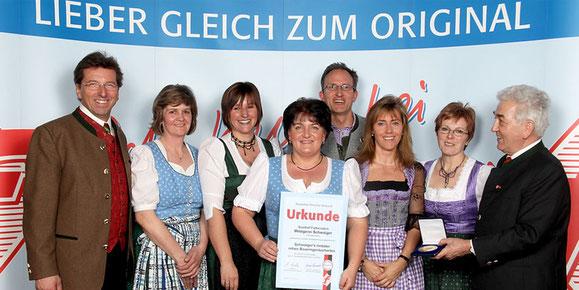 Auszeichnungen für Metzgerei Schwaiger in 83126 Flintsbach