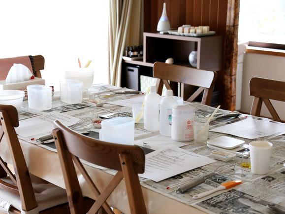 東京で人気の手作り石鹸教室