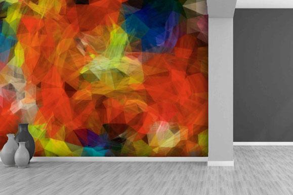 vinilo abstracto grafiti