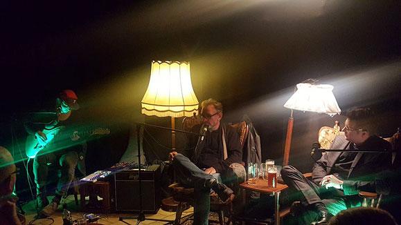 Tresenlesen mit Gary Flanell und Jimmy Ungarn, Brauhaus Nolte, Lueneburg 20.10.2017