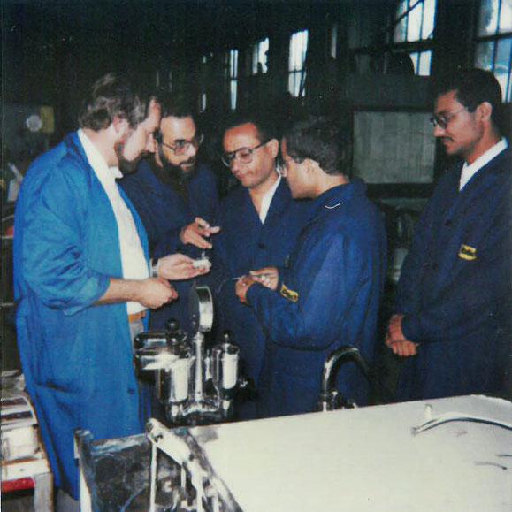 Internationaler Erfahrungsaustausch in der Grossküchen Produktion -Werkmeister Hans Zimmermann 1987