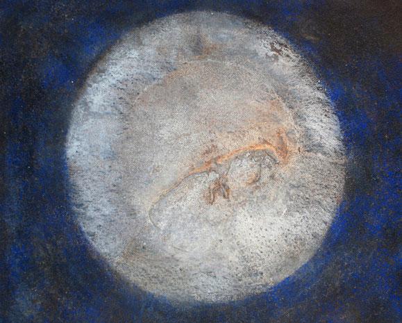 Amador Vallina: La Rata, Mischtechnik auf Leinwand, 2007, 65 x 81 cm