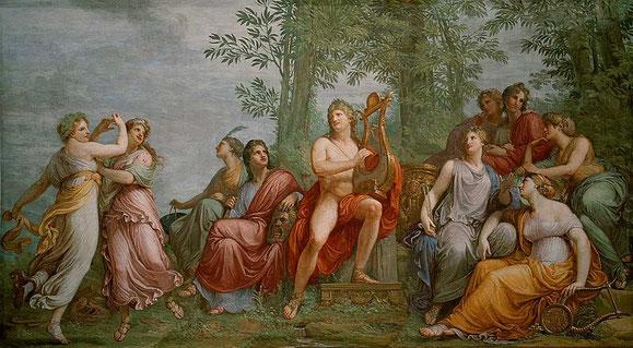 """""""El Parnaso"""" (1811) de Appiani"""