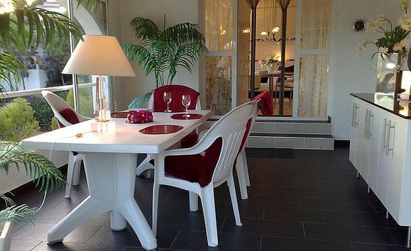 Ferienwohnung Valencia, Villa Gandia Hills, Wintergarten