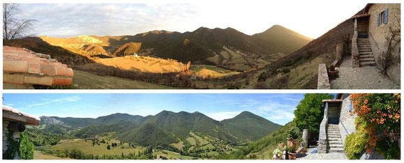 panorama en hiver 2013 et printemps 2014