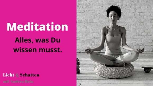 Rund um das Thema Meditation