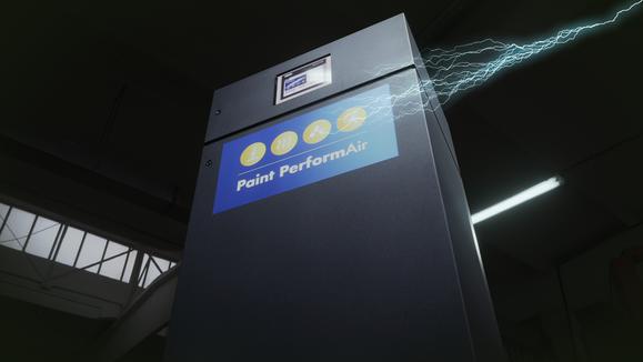 Bringt die Automatiserung in die Lackierkabine: Paint PerformAir