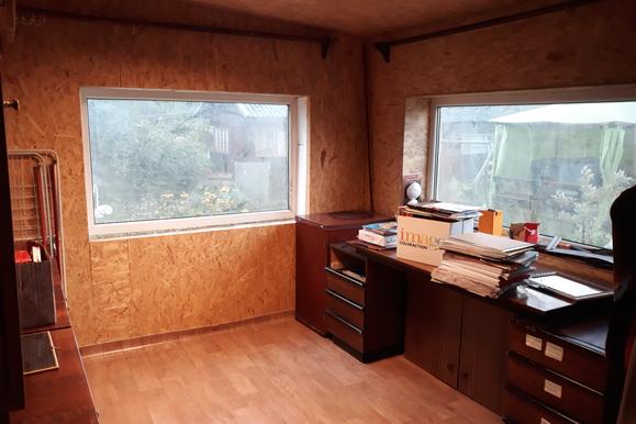 2018 Vorraum (nach Renovierung) als neues Büro