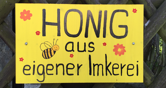 Honig direkt vom Imker