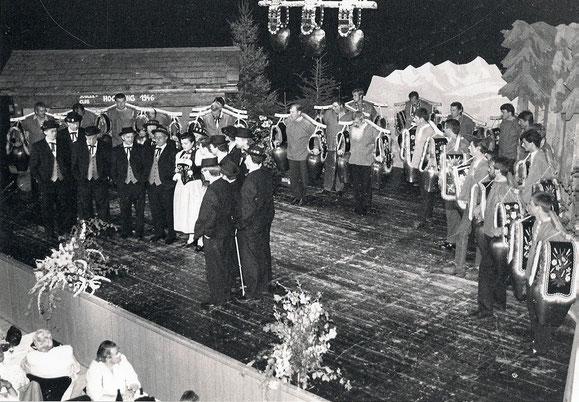 Erster öffentlicher Auftritt an der Jodlerunterhaltung in Landquart am 19. April 1997