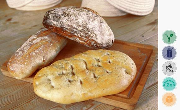 Pane Italiana, Weizen Brot