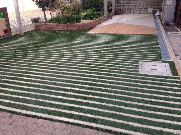 リビオ緑化+人工芝
