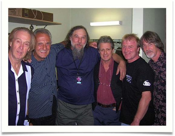 Bild: Spencer Davis; Colin Hodgkinson; Max; Eddie Hardin; Steff; Ed Tree