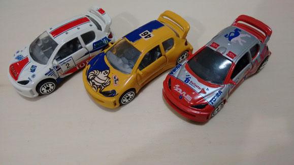 PEUGEOT 206 WRC 1ª serie