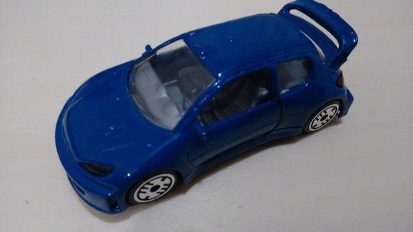 PEUGEOT 206 WRC 1ª serie de calle