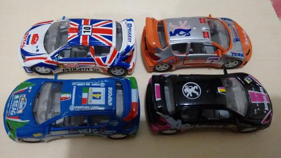 PEUGEOT 206 WRC 2ª serie
