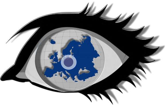 """""""Das Auge von Europa"""" (© Travelmaus.de) - angefertigt von UWE!"""