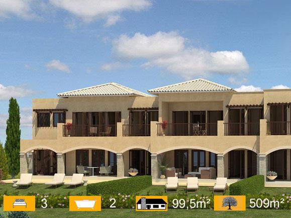 Eigentumswohnung Golfplatz Zypern kaufen
