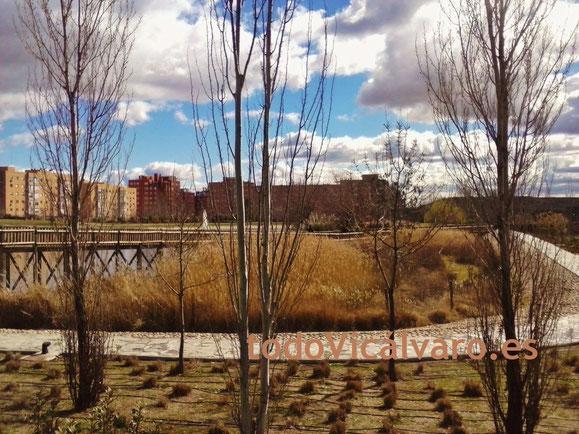 Imagen de archivo del parque de Valdebernardo (Vicálvaro)
