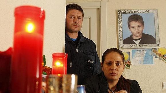 Los padres de Gabriel Vidrascu (ABC)