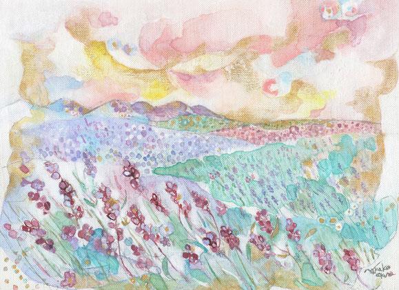 Lavender wind  (2012)