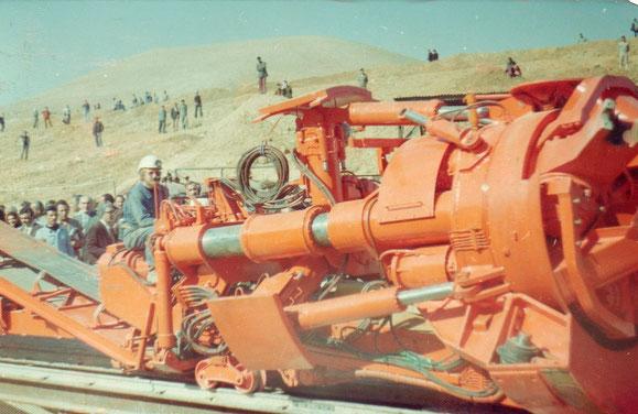 Décembre 1976 - L'Unibo entre dans le tunnel de l'Ayoun