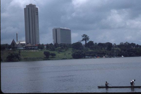 L'hôtel Ivoire à Cocody