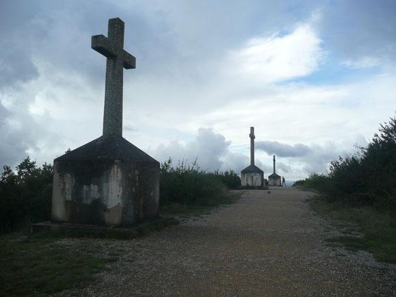 Mont de Sène ou Montagne des Trois Croix (71)