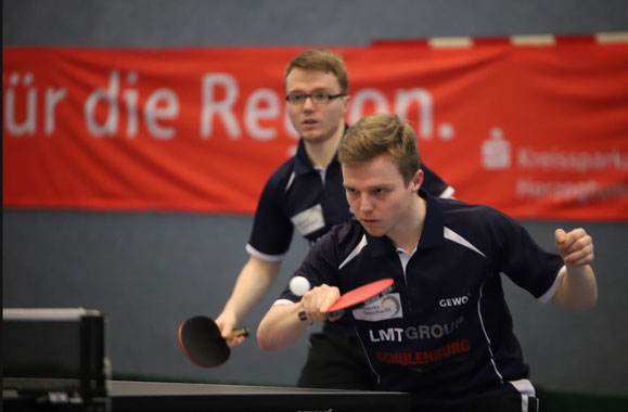 """Haben Medaillenchancen bei den Nord-Titelkämpfen: Die Schwarzenbeker """"Spreckelsen-Twins"""" Frederik (l.) und Moritz."""