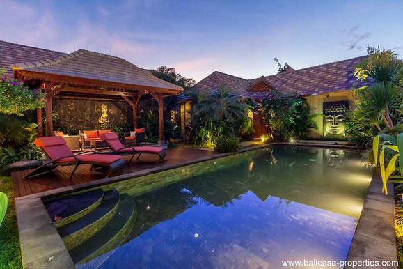 Sanur beachside villa for sale