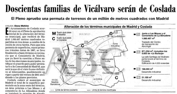 Artículo publicado por ABC el 16 de noviembre de 2000