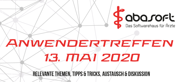 abasoft EDV-Programme GmbH Anwendertreffen 2020 EVA Praxissoftware