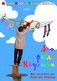 """Affiche du spectacle """"Son Petit Royaume"""" avec des textes du poète chanteur auteur compositeur sculpteur conteur et comédien, le chevalier Julos Beaucarne (27 juin 1936 - Écaussinnes - Brabant wallon)"""