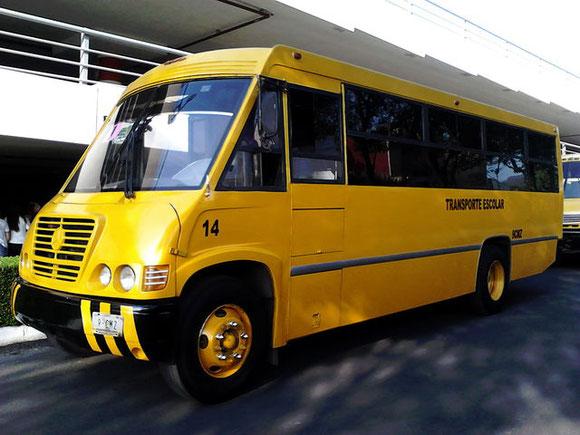 Transportes Escolares Alvarado empresa con 28 años de experiencia transportando alumnos y empleados  con seguridad, cumpliendo con todos los requisitos que la Secretaria de Educación Publica y las autoridades solicitan.