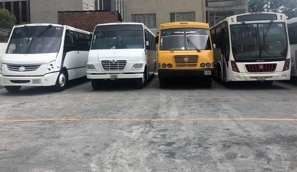 transporte escolar de Personal y Turismo renta contratación alquiler informes cotizaciones