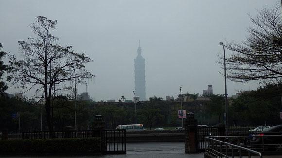 台湾101。高さ508mだそうです。