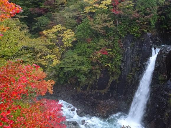 「高樽の滝」 厳しい冬が訪れるまでの短くて美しい紅葉