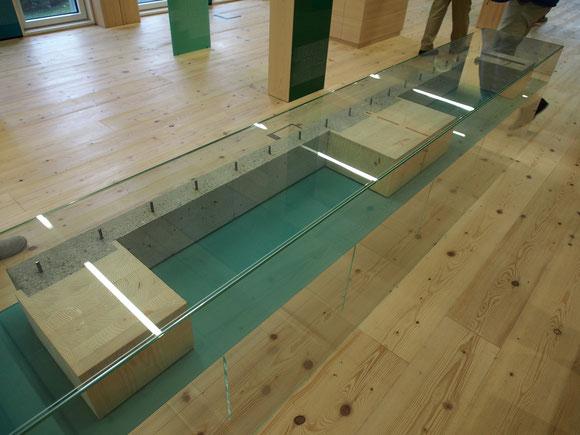 集成材とRCを組み合わせた床パネル