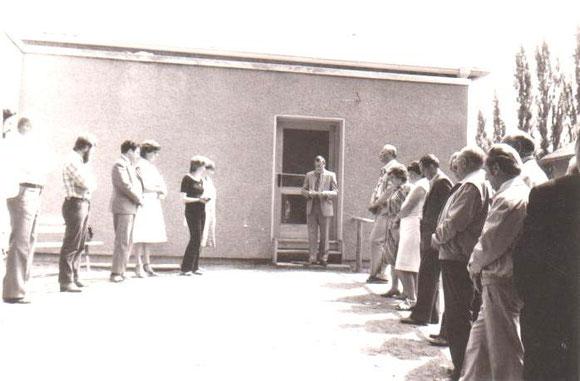 Eröffnung Schwimmhalle und zweite Sauna 1982 - Archiv W.Malek