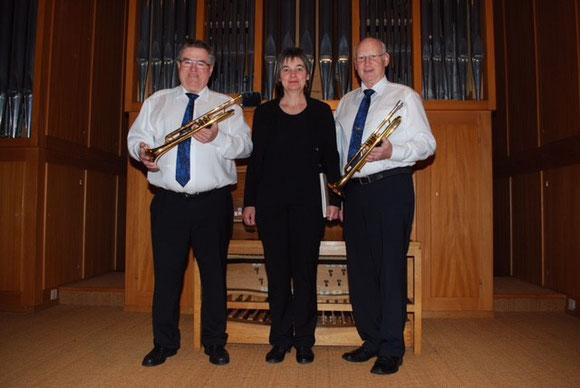 Kirchenmusik Rohrbach (v.l.n.r: Andreas Christen / Barbara Sägesser / Samuel Beutler)