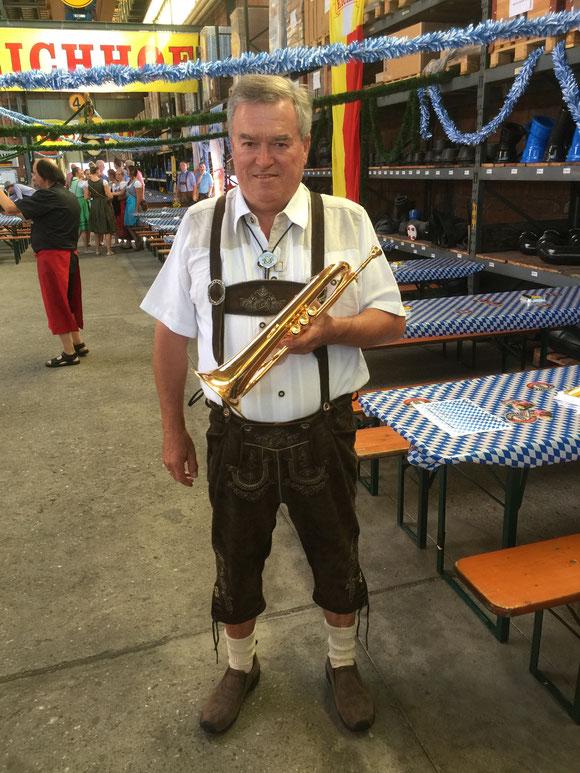 Als Musikant bei den Michelsämter Musikanten in Rothenburg